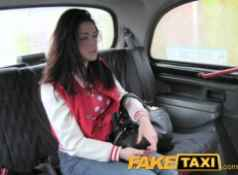 FakeTaxi Stunning thief pays the price...