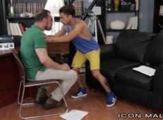 IconMale Armond Rizzo Takes Hot Daddy's Thick Cock...