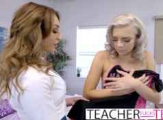 Hot Threeway Fuck For Teacher And Student...