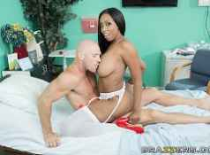Brazzers Codi Bryant is a dirty nurse...