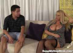 Voluptuous MILF Has Sex With Step son!...