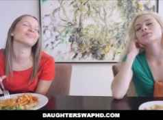 Two Dad's Swap Hot Teen Daughters...
