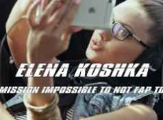 ELENA KOSHKA MISSION IMPOSSIBLE TO NOT FAP TO A GEMCUTTER TRIBUTE PMV...