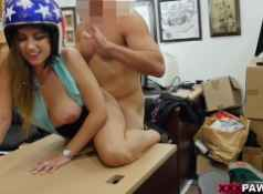 Ivy Rose Tries To Pawn a Famous Daredevil's Helmet on XXXPawn!...