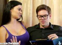 British MILF Jasmine Jae Fucks Immigration Officer...
