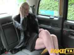 FakeTaxi Anal butt plug followed by big cock...