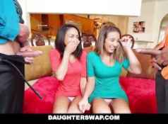 Daughter Swap  Daughters Learn Sex From Dad's Best Friend...