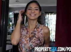 PropertySex Flirty real estate agent cancels open house to fuck client...