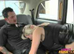 FemaleFakeTaxi Dirty Driver Swallows Copper's Cock...