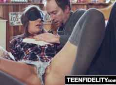 TEENFIDELITY Shyla Ryder Creampie Surprise From Stepdad...
