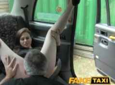 FakeTaxi Posh smart lady gets a good hard fuck...