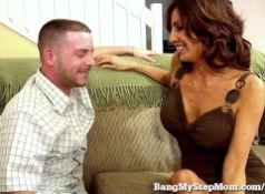 Hot Stepmom Can't Resist Stepson's Big Dick!...