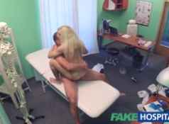 Fake Hospital Tattooed Blonde Loves Doctors Dick...